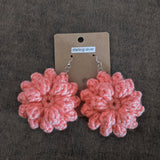 Dahlia Flower Earrings