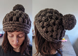 Poofy Dreams Wool Beanie
