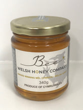 Load image into Gallery viewer, Beeswax Block UK | Gourmet Foods Online | Welsh Raw | Lime Blossom Chunk Honey | UK Food Gift | Bee Welsh Honey Company |