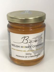 Beeswax Block UK | Gourmet Foods Online | Welsh Raw | Lime Blossom Chunk Honey | UK Food Gift | Bee Welsh Honey Company |