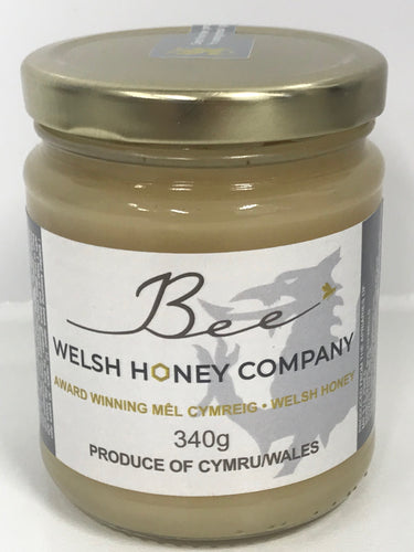 Welsh Raw | Lime Blossom Chunk Honey | UK Food Gift | Bee Welsh Honey Company | Beeswax Block UK | Gourmet Foods Online |