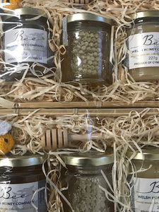 Beeswax Block UK | Gourmet Foods Online | Raw Honey Wales  | Lime Blossom Honey | UK Food Gift | Bee Welsh Honey Company |