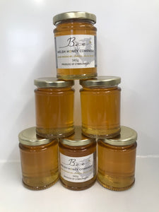 Lime Blossom Chunk Honey | UK Food Gift | Bee Welsh Honey Company | Beeswax Block UK | Gourmet Foods Online | Welsh Raw |