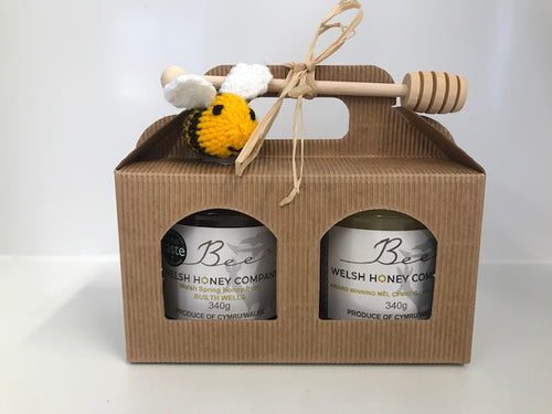 Gourmet Foods Online | Raw Honey Wales | Beeswax Block UK | Chunk Honey | UK Food Gift | Bee Welsh Honey Company |