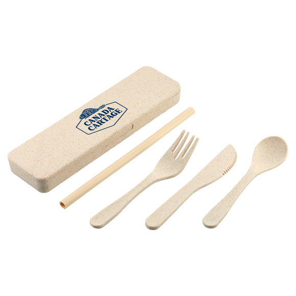 Wheat Straw Utensils To Go