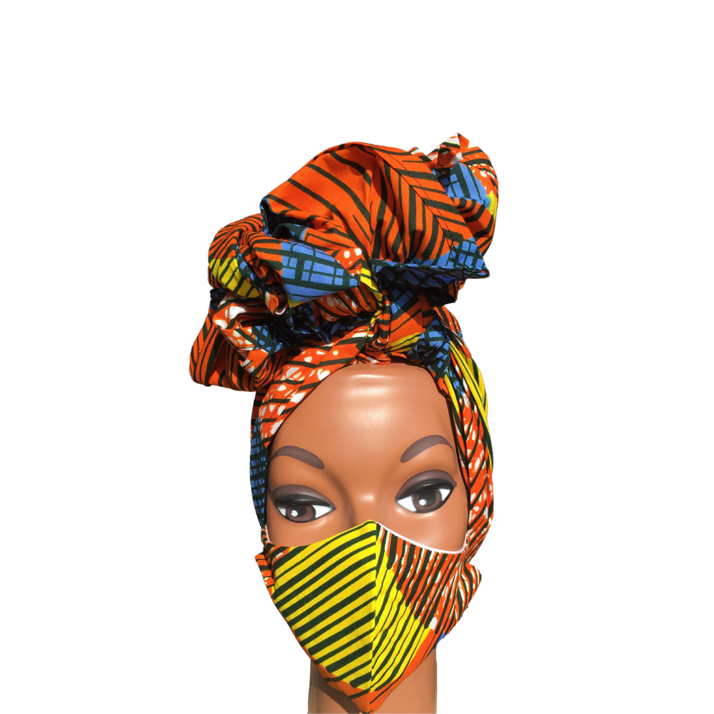 Regal Wrap & Mask Set- Sunrise - Regal Roots Hair & Beauty Boutique