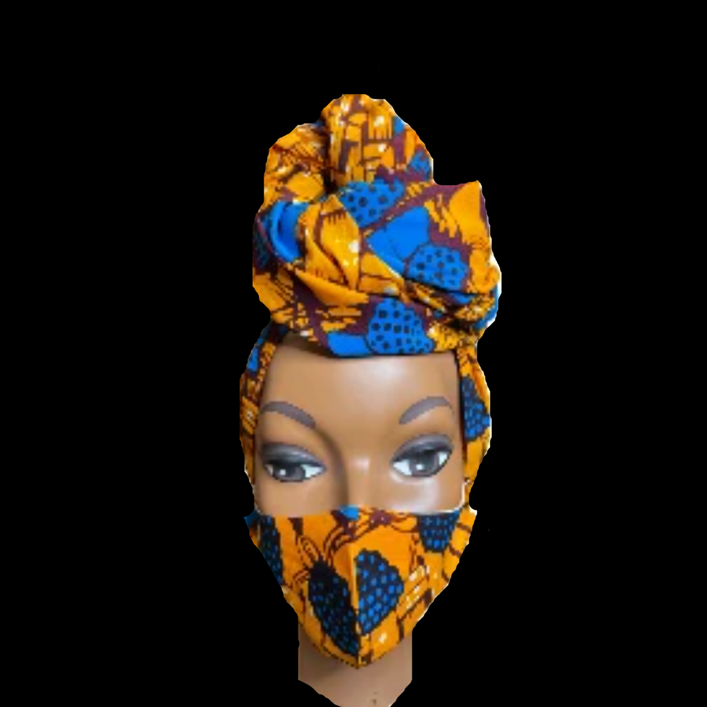 Regal Wrap & Mask Set- Sweetie - Regal Roots Hair & Beauty Boutique