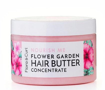 Load image into Gallery viewer, Flora & Curl Flower Garden Hair Styling Butter 4.2 oz - Regal Roots Hair & Beauty Boutique