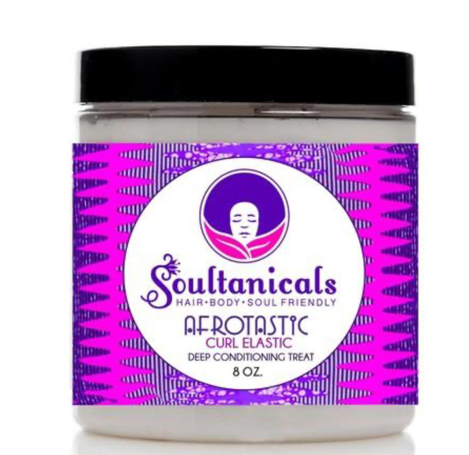 Soultanicals Afrotastic Curl Elastic Deep Conditioning Treatment 8oz - Regal Roots Hair & Beauty Boutique