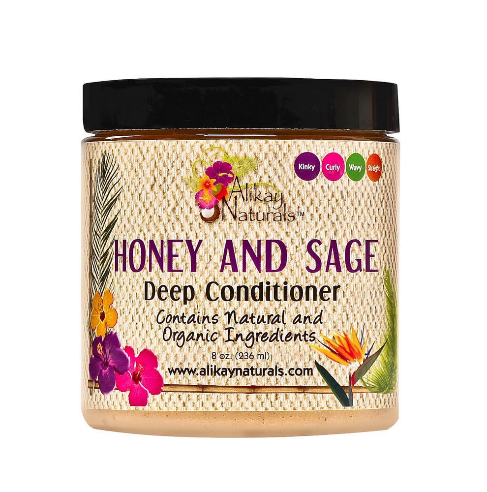 Alikay Naturals - Honey & Sage Deep Conditioner 8oz - Regal Roots Hair & Beauty Boutique