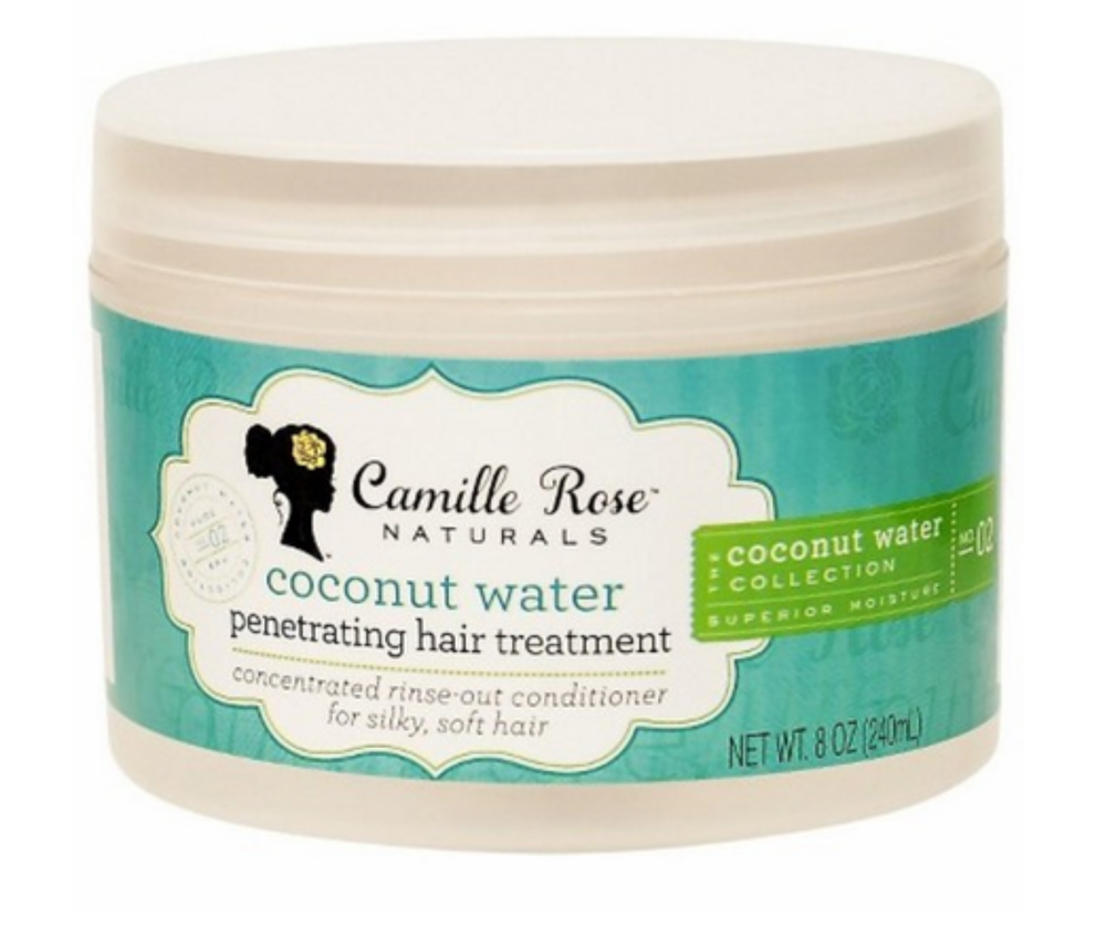 Camille Rose Naturals Coconut Water Penetrating Hair Treatment 8oz - Regal Roots Hair & Beauty Boutique