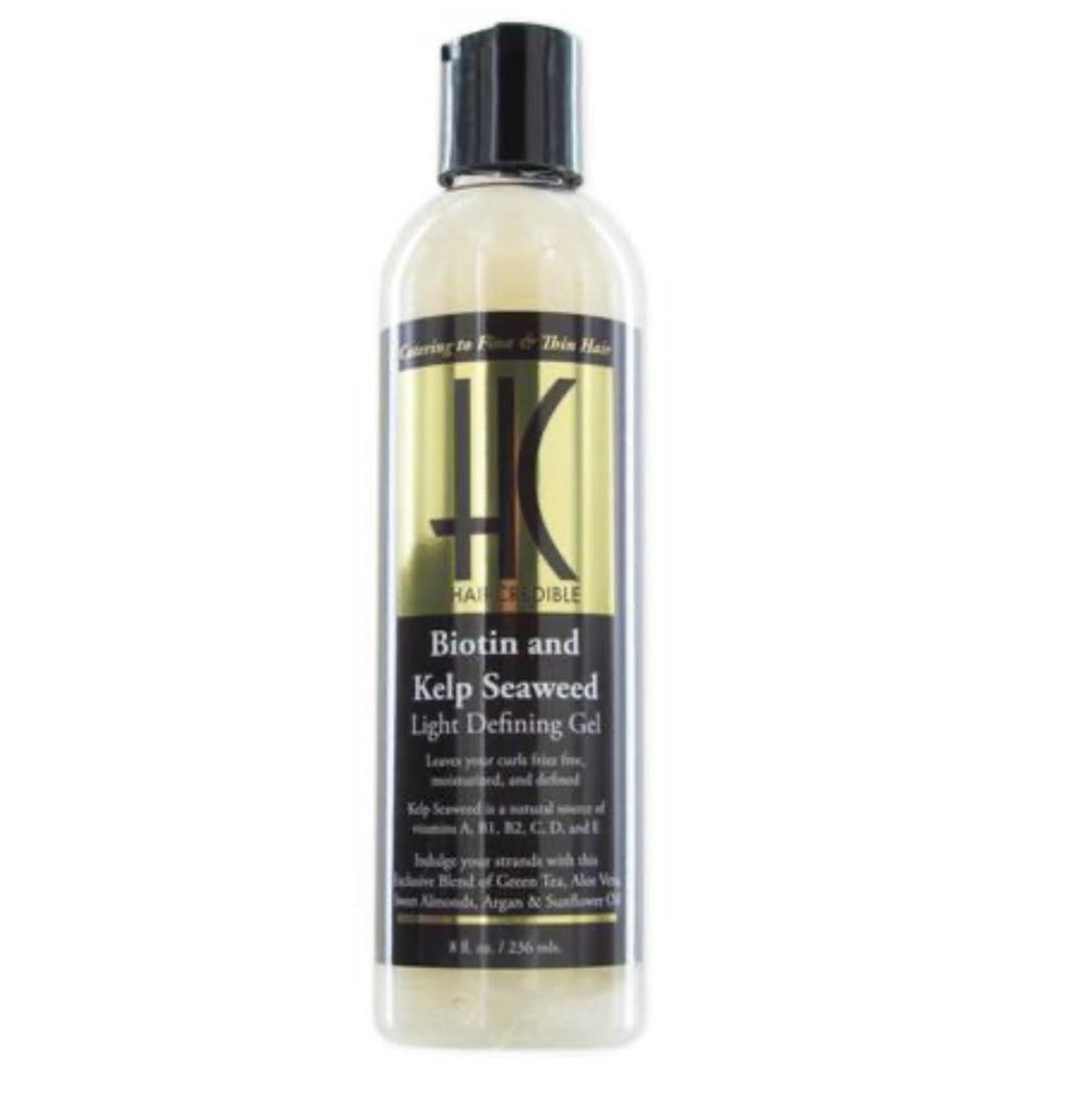 Haircredible Biotin and Kelp Seaweed LIGHT defining Gel 8oz - Regal Roots Hair & Beauty Boutique