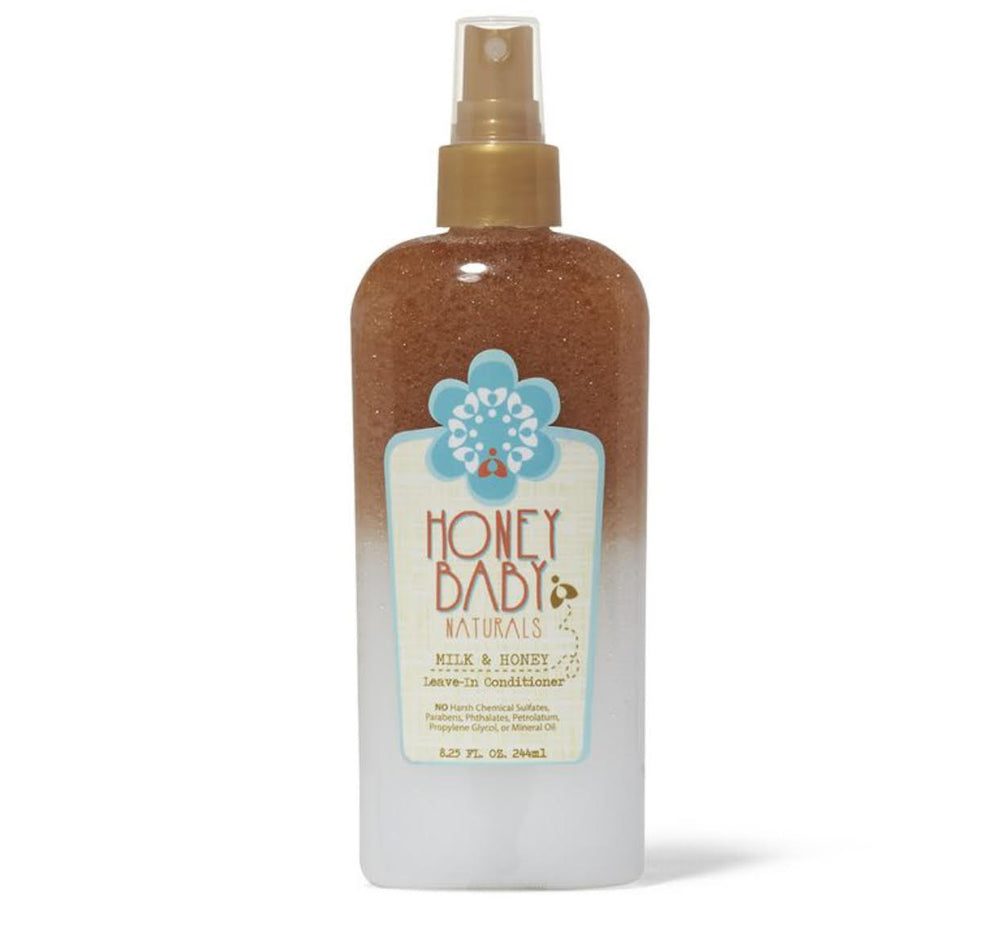 Honey Baby Naturals Milk & Honey Leave-In Conditioner 8.25oz - Regal Roots Hair & Beauty Boutique