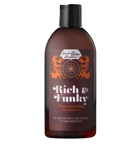 Uncle Funky's Daughter Rich & Funky MOISTURIZING CLEANSER 8oz