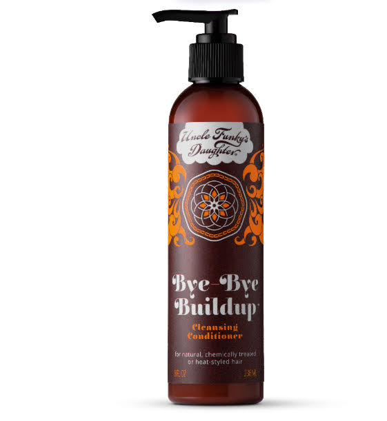Uncle Funky's Daughter Bye-Bye Buildup MOISTURIZING CLEANSING CONDITIONER 8oz