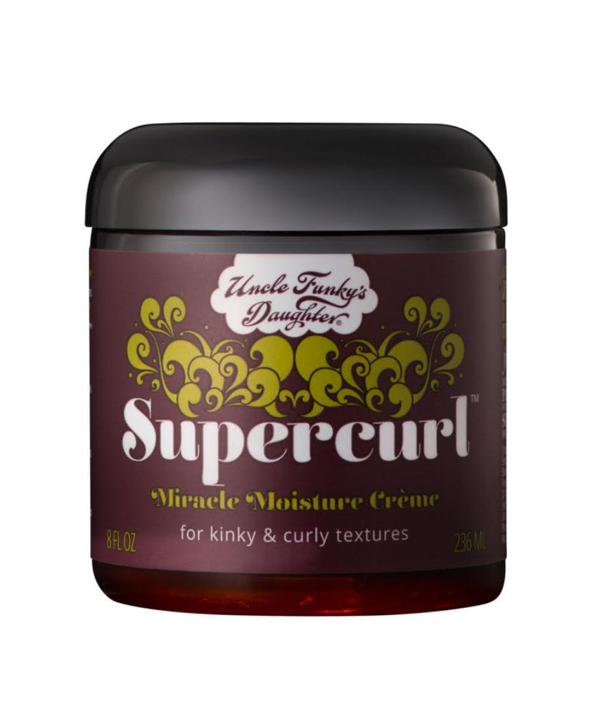 Uncle Funky's Daughter Supercurl MIRACLE MOISTURE CREME 8oz