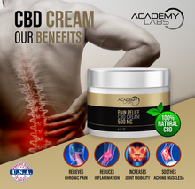 Load image into Gallery viewer, CBD Pain Relief Cream (500mg)