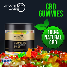 Load image into Gallery viewer, CBD Gummies (Gummy Bears, 750mg)