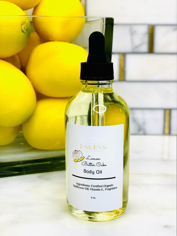Lemon Butter Cake Body Oil