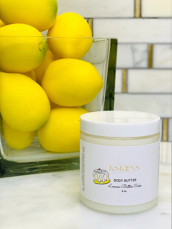Lemon Butter Cake Body Butter