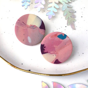Large circle studs 04 • Pick n Mix