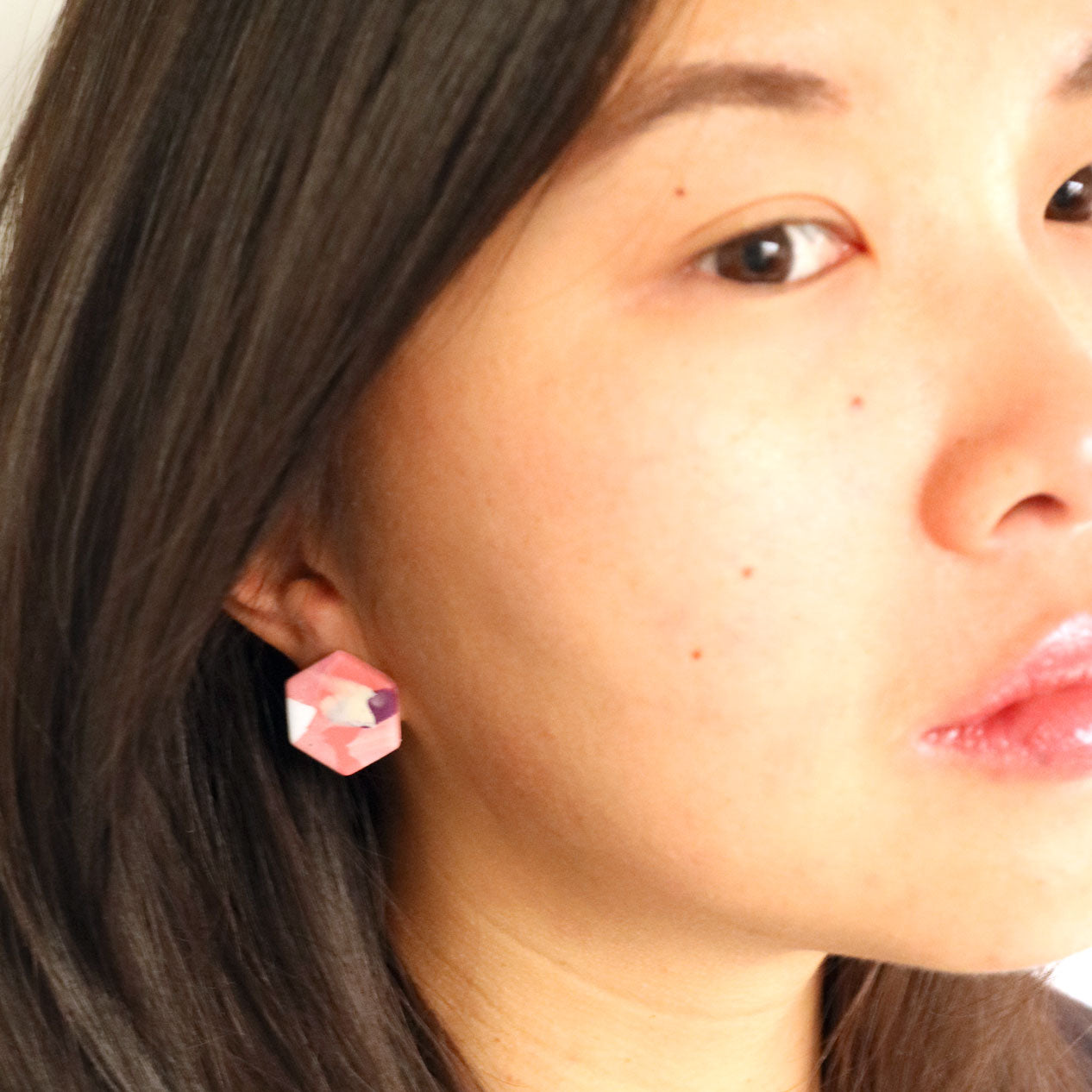 Hexagon studs 06 • Pick n Mix