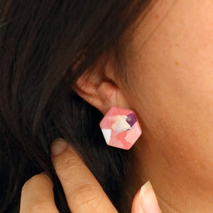 Hexagon studs 02 • Pick n Mix