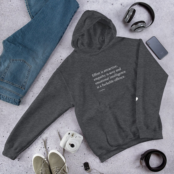 Effort is Attractive Unisex Hoodie