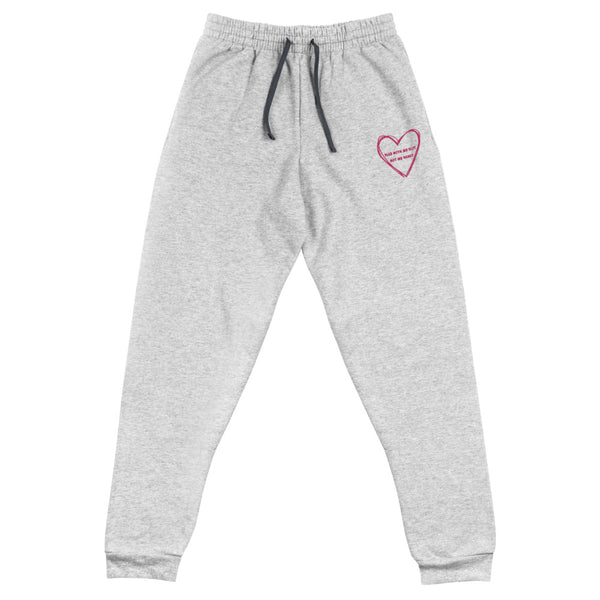 Play With My Clit Not My Heart Unisex Joggers