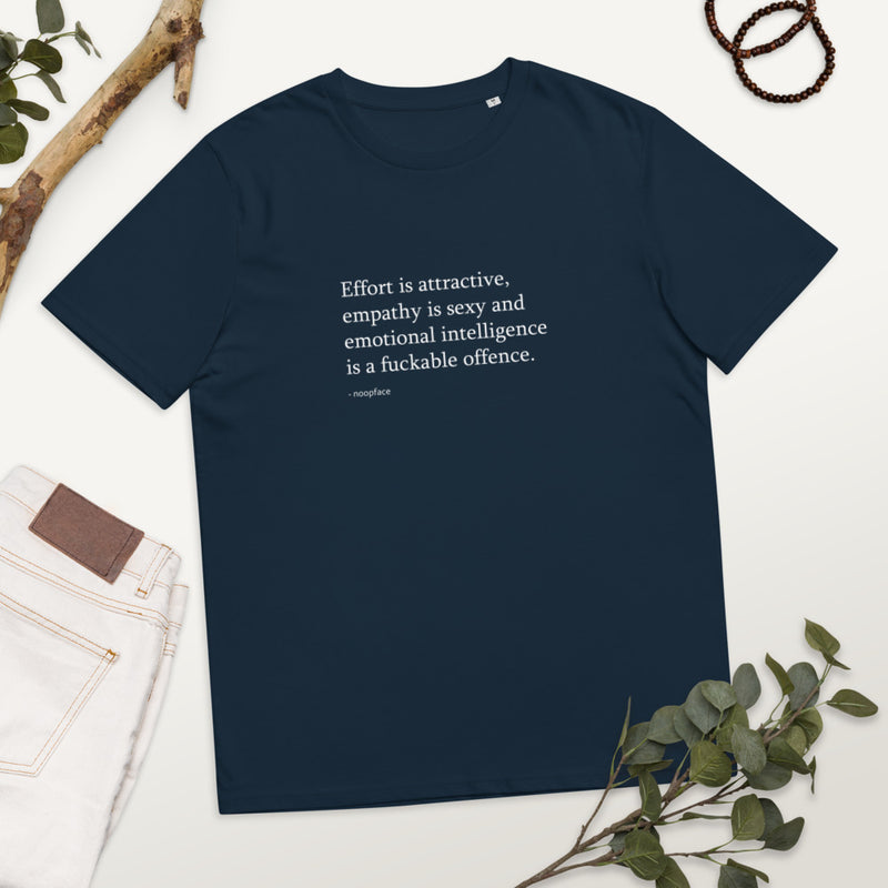 Effort is Attractive Organic Cotton Unisex Shirt