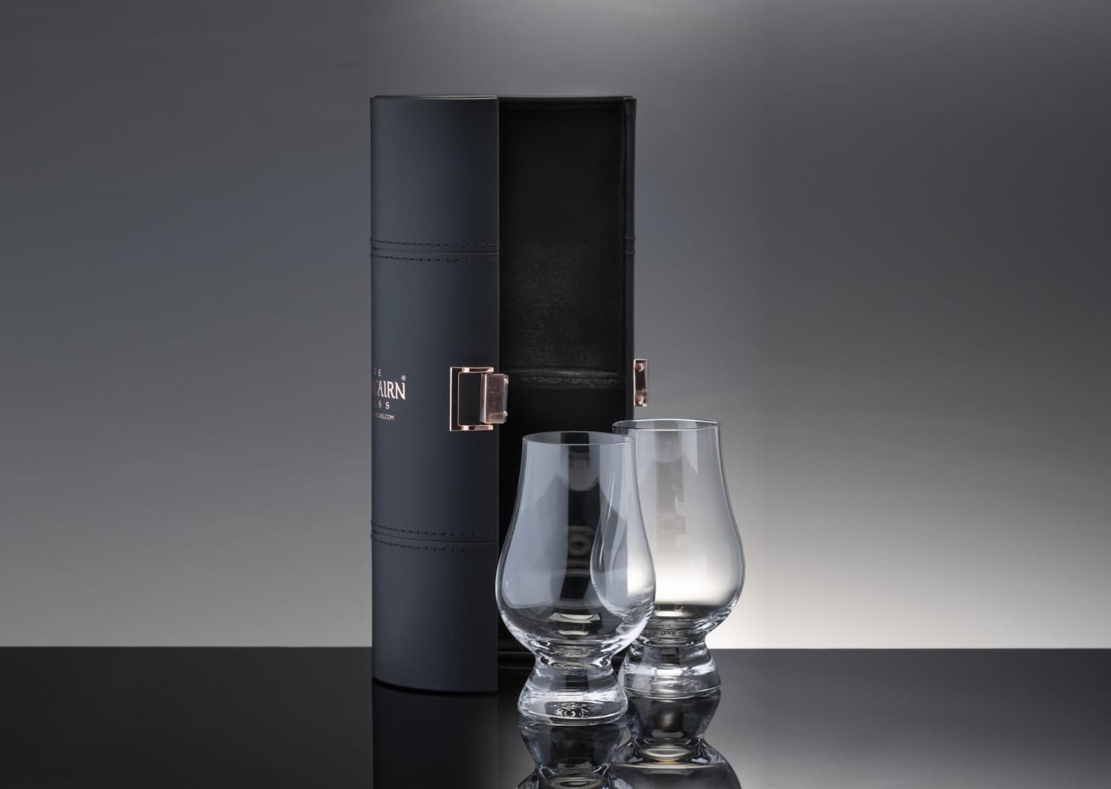 Two Glencairn with Travel Case
