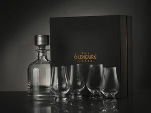 Iona Decanter & Four Glencairn Set