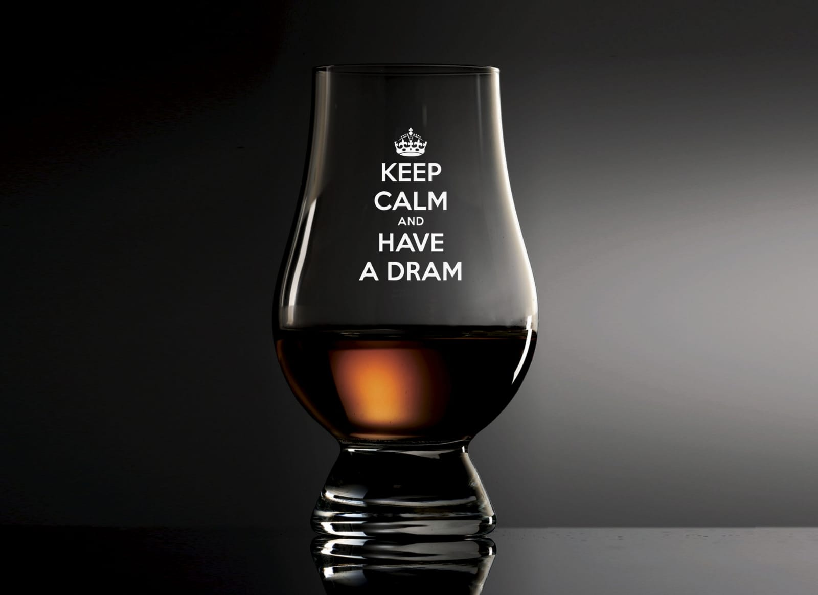 Keep Calm Glencairn Glass
