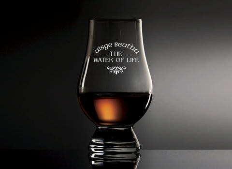 Water of Life Glencairn Glass
