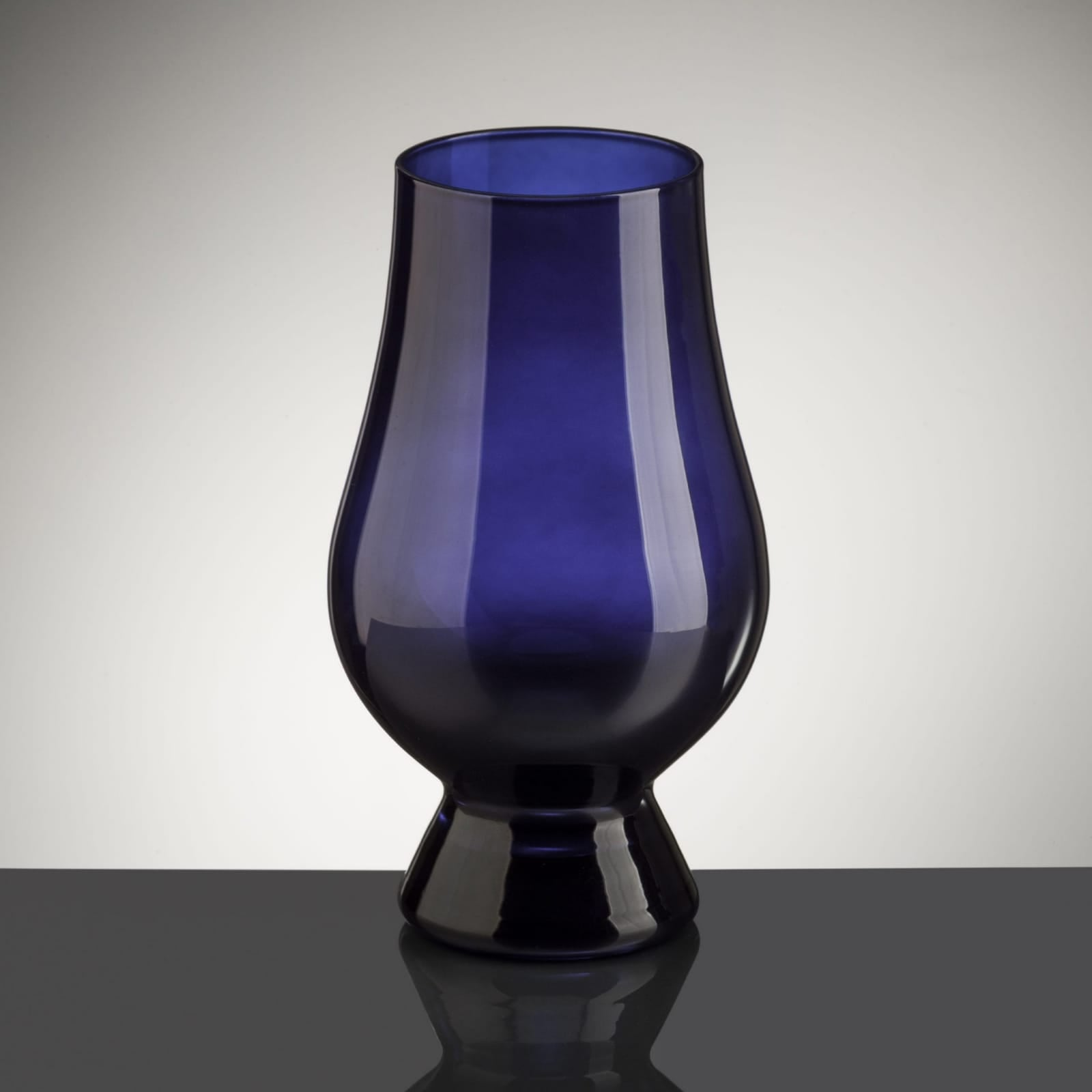 Blue Glencairn Glass
