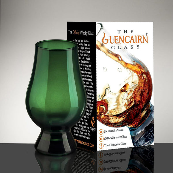 Green Glencairn Glass