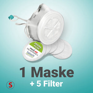 "PROVID<span style=""color:red"">-MED</span> Silikonmaske SMALL Starterpaket PLUS"