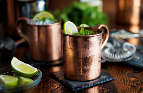 Yucatan Mule - Spring Cocktail made with El Yucateco Jalapeno Hot Sauce
