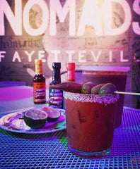 Nomads Fayetteville, Arkansas and El Yucateco Hot Sauce