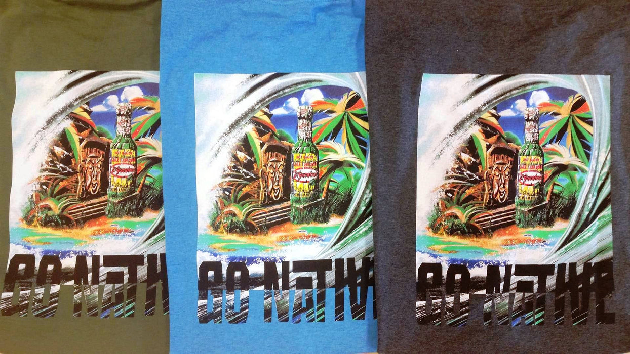 Go Native Surf Art Shirt - Limited Edition