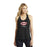El Yucateco Ladies Black Shimmer Tank Top