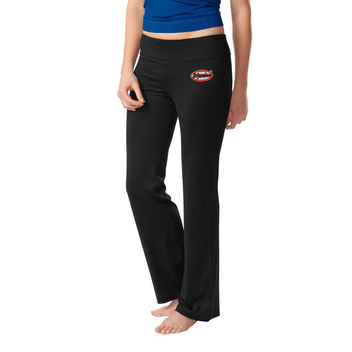El Yucateco Ladies Embroidered Yoga Pants