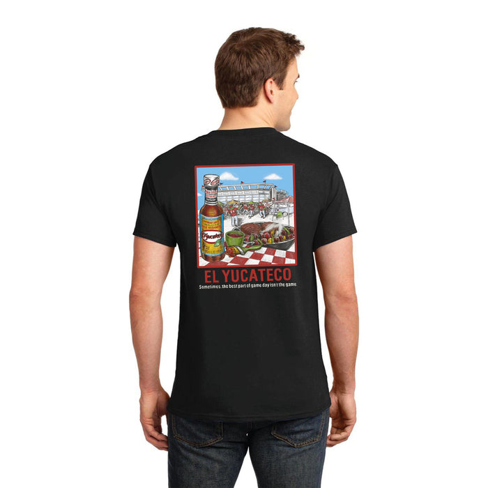 El Yucateco Limited Edition Tailgating Short Sleeve Tee - Unisex - Black