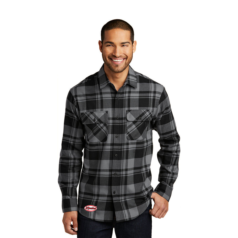 El Yucateco Embroidered Flannel Shirt