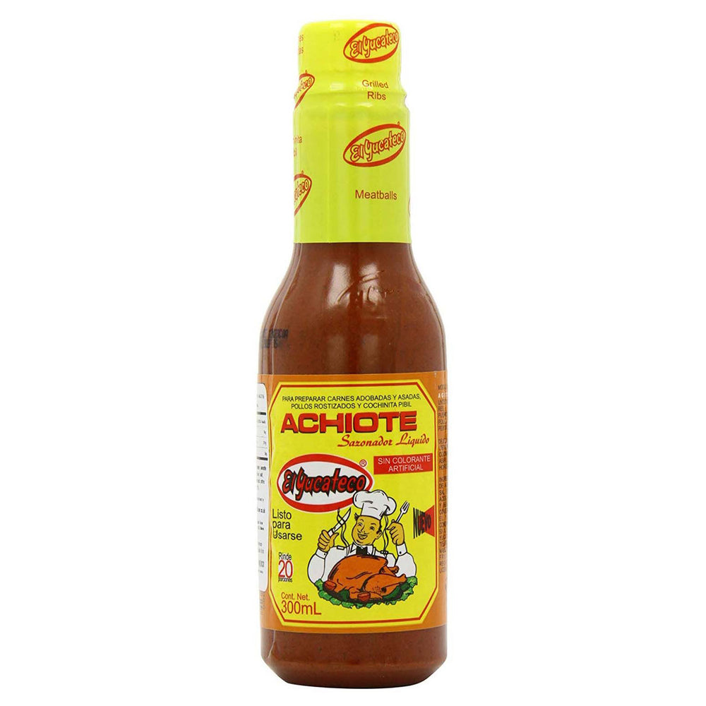 Mexican achiote paste in a 300 ml bottle - great for marinades, spices, or as a side sauce