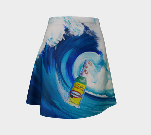 El Yucateco Ride the Wave - Flare Skirt