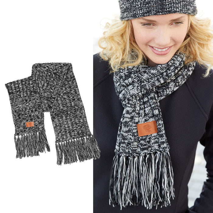 El Yucateco Heathered Knit Scarf