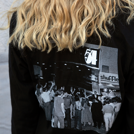 Studio 54 x Bill Bernstein Photograph Long-sleeve 'Gatekeeper' T-Shirt