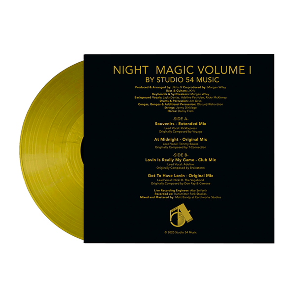 Night Magic Volume I – The Disco Mixes (Ltd. Gold Edition Vinyl) [PRE ORDER]