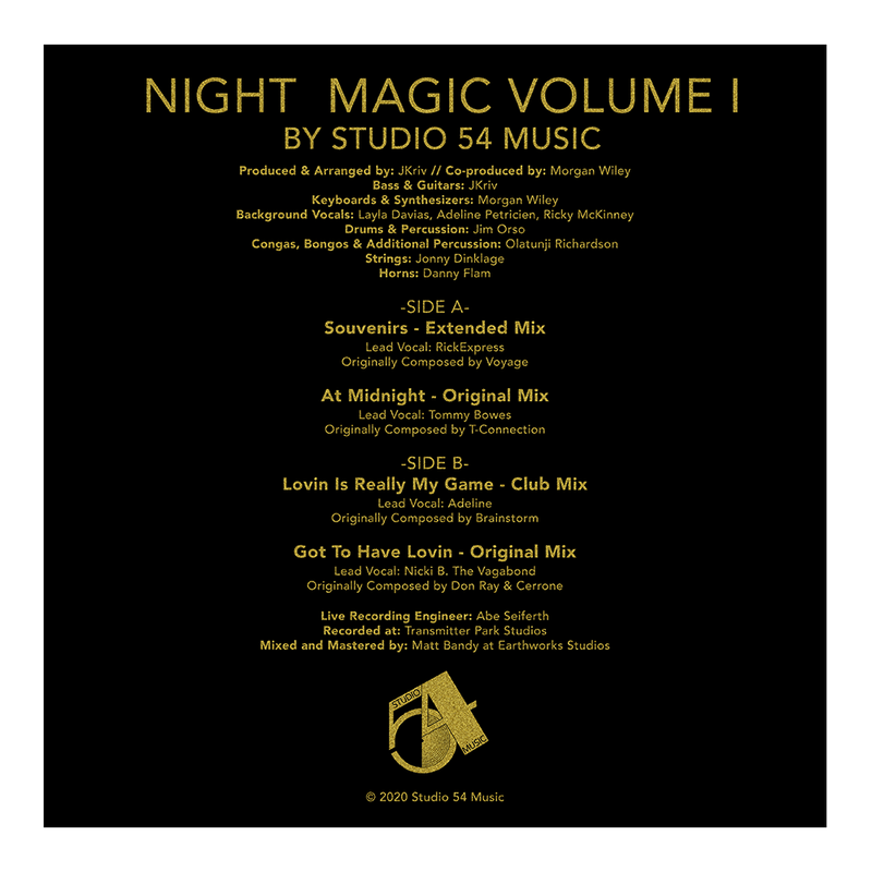 Night Magic Volume I – The Disco Mixes (Ltd. Gold Edition Vinyl)